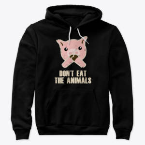 vegan animal sweatshirt