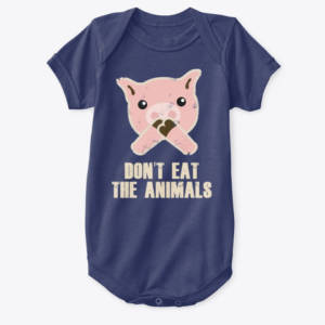 kids vegan shirt